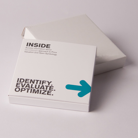 Hinged Lid Promotional Packaging to hold USB