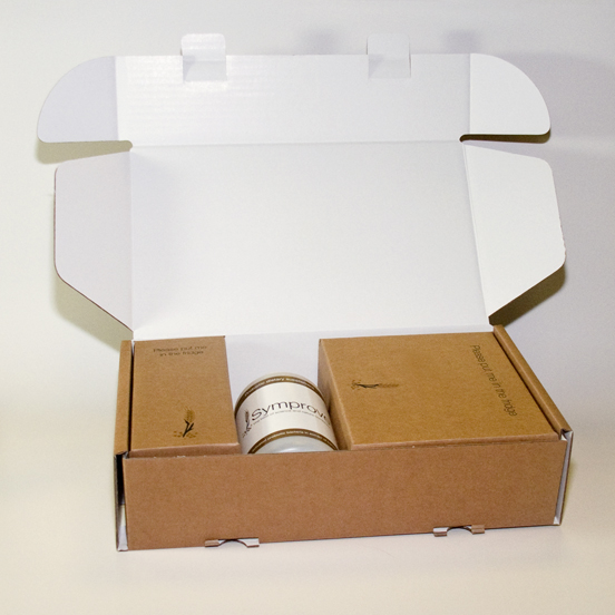 0427 Style Mailing promotional box with Board Plinth