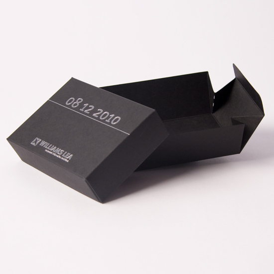 Small Fold Out Presentation Box