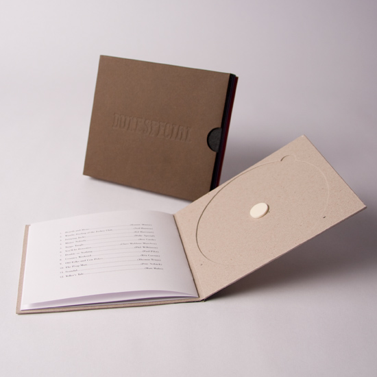 Greyboard CD Wallet with Leaflet and Slipcase