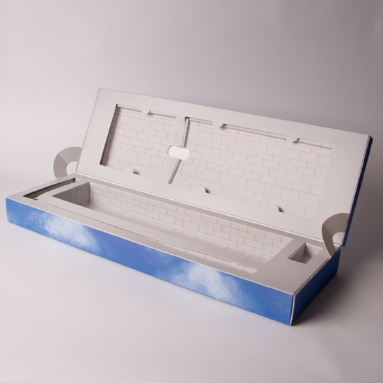 Split Hinged Lid Presentation box with Lock