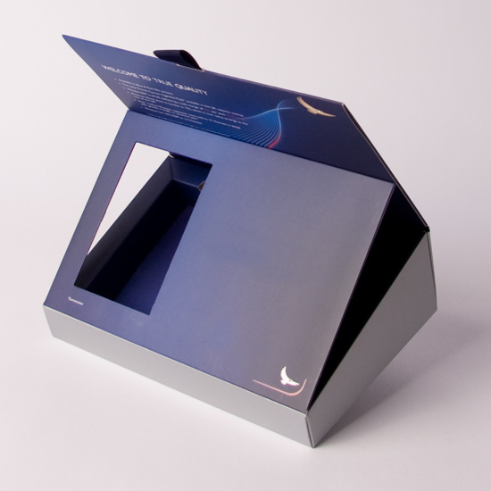Angled Presentation box with Board Plinth