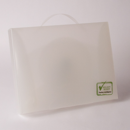 Printed Polyproylene Folder with Handle