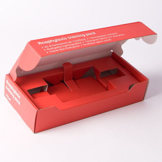 0427 Corrugated Presentation box with Plinth