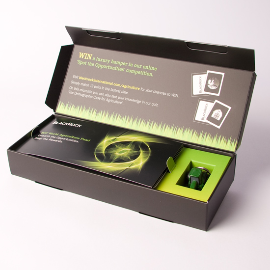 Rigid Style Hinged Lid promotional box with Plinth