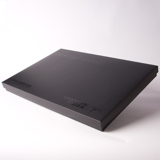 Printed Large Rigid Style Lift Off Lid Box
