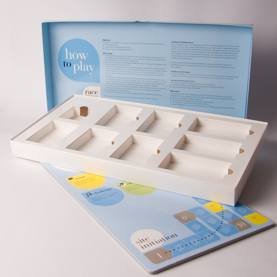 Rigid Style Games Board promotional box with Games Board